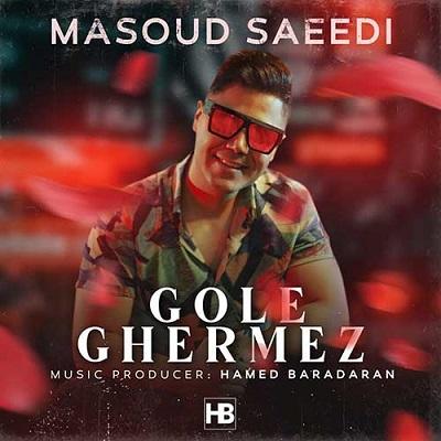 دانلود آهنگ یه دنیا گل قرمز میارم دم خونت مسعود سعیدی